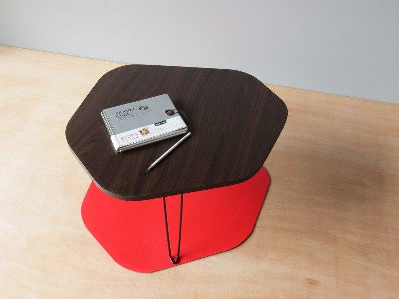 HO MOOD 大自然系列—鵝卵石 摺疊桌。