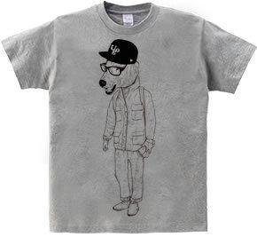 polar bear UOG(T-shirt 5.6oz gray)