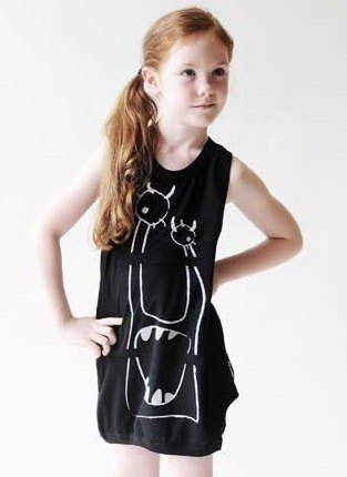 2015 Spring LOUD APPREL mouth strange Long cotton sleeveless vest T