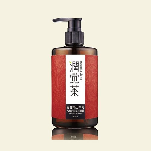 [Tea] tea Baorun feel Ginger Flower Nourishing Shampoo 350ml fragrance Christmas gift exchange