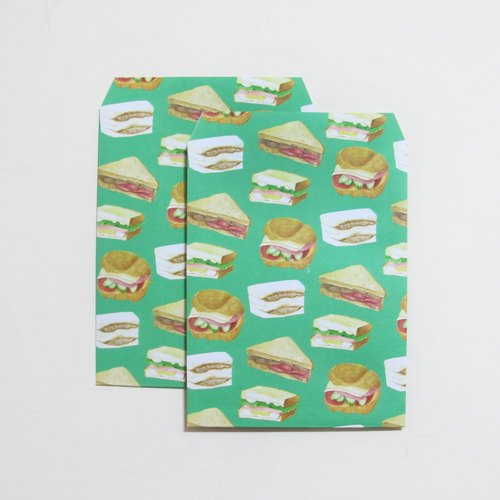 panda sandwich pattern valentines grocery bags can also be envelopes