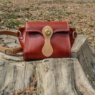Do not hit the bag tanned leather tanned leather handmade casual wind pure packet
