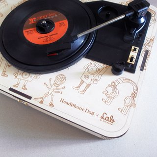 HeadphoneDog X LAB by Dimension+ Turntable (WOOD)