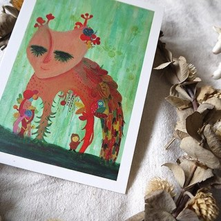 Fading Forest Postcard