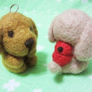 Papa GO Lara Labrador can be customized with color can be free necklace / Bag Charm / Key Chains (alternative function)