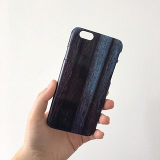 Print Wood Pattern Blue 3D Full Wrap Phone Case, available for  iPhone 7, iPhone 7 Plus, iPhone 6s, iPhone 6s Plus, iPhone 5/5s, iPhone 5c, iPhone 4/4s, Samsung Galaxy S7, S7 Edge, S6 Edge Plus, S6, S6 Edge, S5 S4 S3  Samsung Galaxy Note 5, Note 4, Note 3,