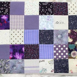 Patchwork plaid mat, floor mats, cushion, mat what you want to bring anything pad, you can also do curtain