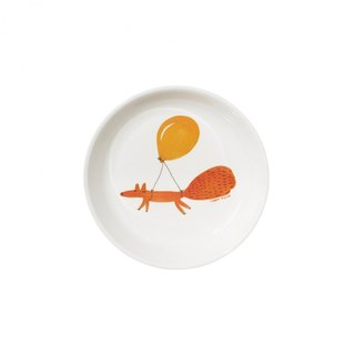 Fox and Balloon Children's Plate | Donna Wilson
