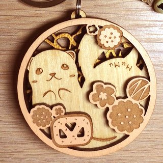 MuMu Sweety Snowy Cookies / Key Ring / Hardcover