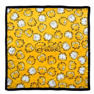 Garfield x Artify Me square silk scarf