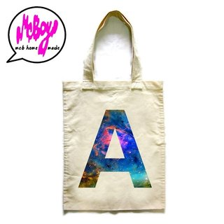 Galaxy A to Z Tote Bag