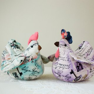 Wedding Gift ~ Guide Chicken // A pair of chickens