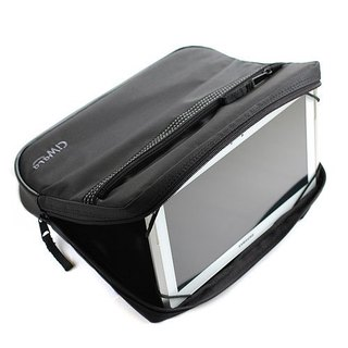 Tablet special protective cover + carriage / trailer / stand / rear frame pillow + Computer Bag - Black Apple iPad2, new iPad, ipa Air, Samsung Galaxy, ASUS PadFone 2