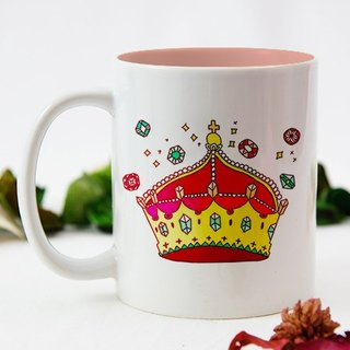 Sister inside their own queen pink color mug AI2-VLTM15