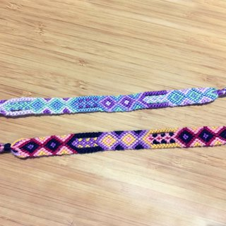 A0012 Imported High-quality Embroidered Knit Bracelet