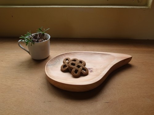 Firm accepted - Cypress plate [handmade wooden tray / Driftwood disc / Cypress]