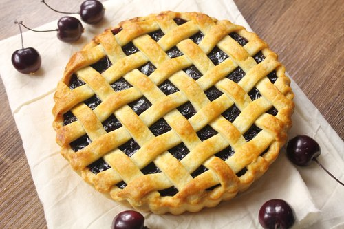 [Apie Baking Center Manually blueberry cherry pies / 8-inch