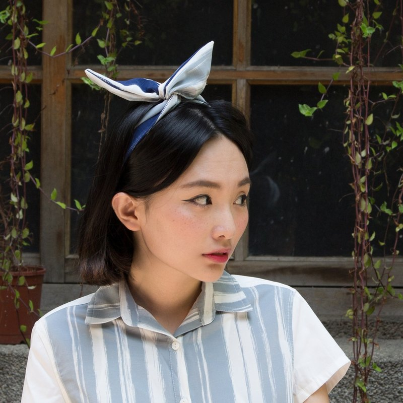 Two-sided Hairband |Stripes