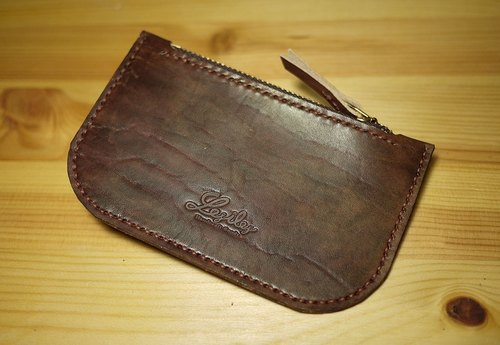 Leather Purse leather purse carry umber