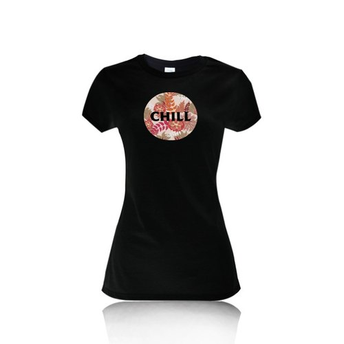 Weekend was CHILL cotton short-sleeved T