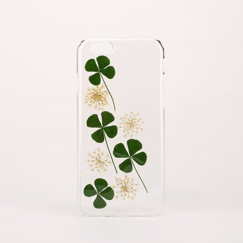 Clear Pressed Flower Phone Case for iPhone 6s iPhone 6 iPhone 5s iPhone 4s Samsung Galaxy