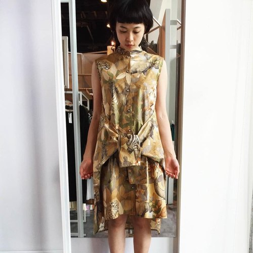 Safari Vest-dress