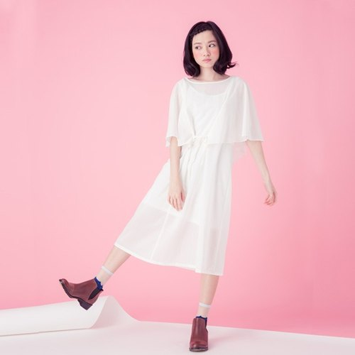 Xu Xu children ♪ day day dawn spray sleeve dress