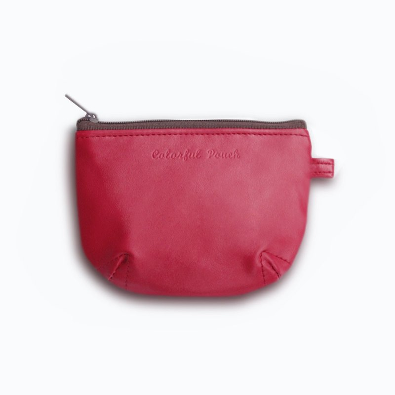 U-PICK original product life spell color leather bag S- red / m gray / gold / black coin purse