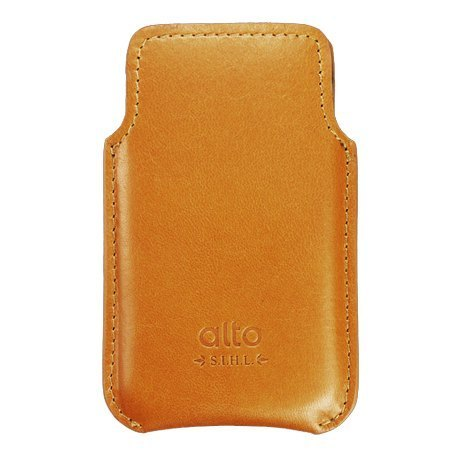 alto iPhone 4 / 4S Italian leather leather case camel
