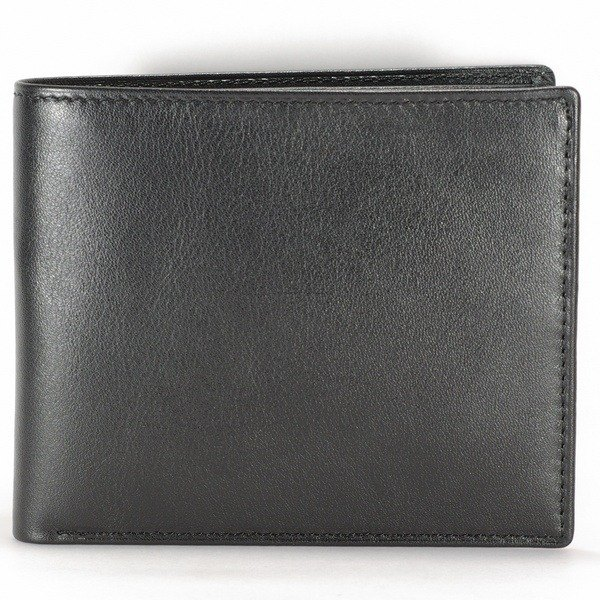 Exquisite hand-sewn leather soft cowhide leather wallet short clips without the sheet -Mark Honor- Christmas New Discounts