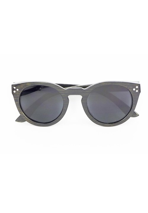 Cinss Hold My Hand wood frame sunglasses