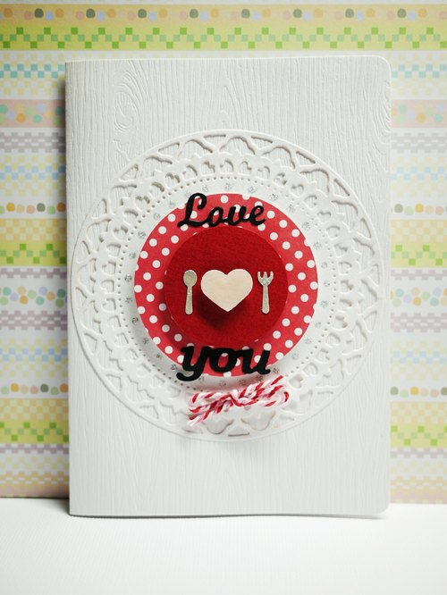[Yu-crafts handmade cards] # 71 Love You