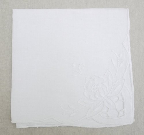 Lireya embroidery lace handkerchief