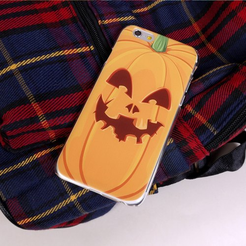 Halloween Pumpkin Orange Print Soft / Hard Case for iPhone X,  iPhone 8,  iPhone 8 Plus, iPhone 7 case, iPhone 7 Plus case, iPhone 6/6S, iPhone 6/6S Plus, Samsung Galaxy Note 7 case, Note 5 case, S7 Edge case, S7 caseg Galaxy Note 5 , S6, S6 edge, S6 edge