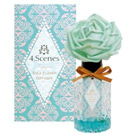 Art Lab - 4 Scense Flower diffuser - Green Vacances