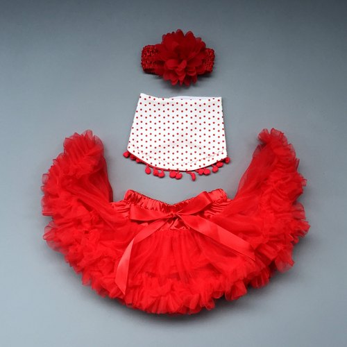 La Chamade / Tutu skirt set- Little Red Riding Hood