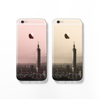 Taiwan skyline iPhone 6 case, iPhone 6s case, Decouart original design C088