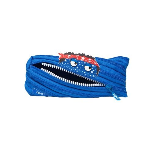 Zipit Talking dialogue monster zipper bag - (in) Blue