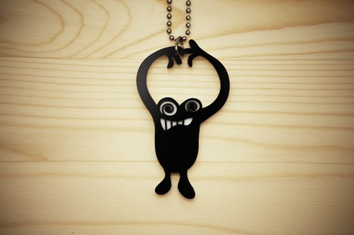 【Peej】'Too High'  Double layered Acrylic key chains/necklaces