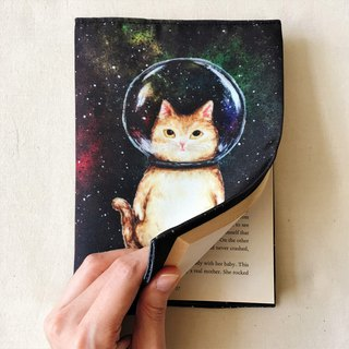 Canvas slipcase / book clothes ★ ★ Space glass balls cat cats