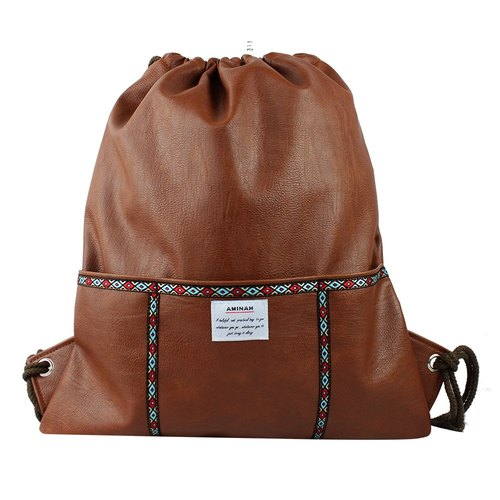 AMINAH- series after coffee totem beam port backpack [am-0285]