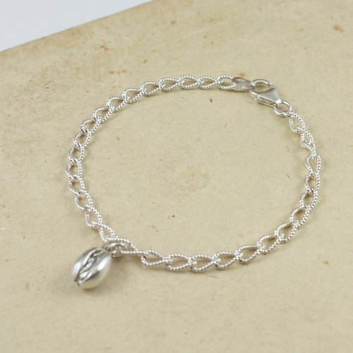 Coffee Carnival sterling silver chain bracelet C024SCN- (tax included)