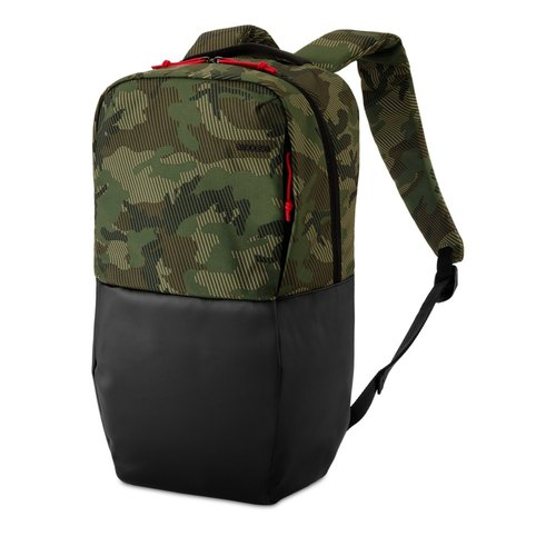 【INCASE】 Staple Backpack 15-inch light hit color stitching laptop backpack (camouflage)
