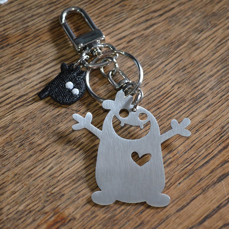I'm the Best  Stainless Steel Keychain Valentine's Day
