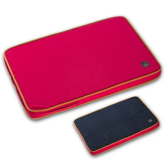 Lifeapp Dirty Pet Sleeping Pad M (Red & Blue) W80 x D55 x H5 cm