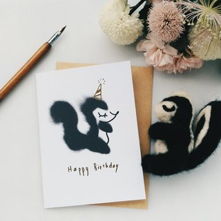 Whimsical Animal Squirrel Birthday Card, Woodland Animal Illustration Hand Lettering Gold Foil Card, Cute Card, Animal Card Whimsical Animal Squirrel Birthday Card, Woodland Animal Illustration Hand Lettering Gold Foil Card, Cute Card, Animal Card Whimsica
