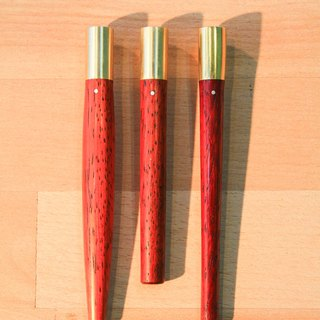 Stationery- Composite pen - red rosewood