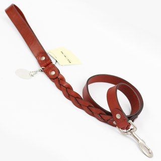 Ella Wang Design stitching leather series 105cm long leash - brown (coffee)