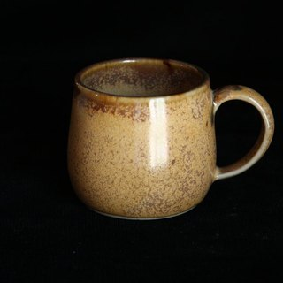 Honey brown crystalline small coffee cup # 3030