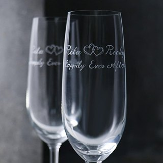 (One pair price) 210cc [MSA] love champagne wedding special cup of Eternal Hearts Wedding champagne glass glasses group marriage lettering made introductory paragraph wedding gift